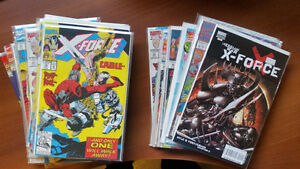 X-FORCE LOT WITH #1,2,4,8,15,47,116 NM CABLE DEADPOOL LOEB