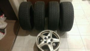 Winter tires for camaro   4 tires...plus an extra ri...just 200