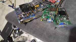Agp and pci graphics cards London Ontario image 2