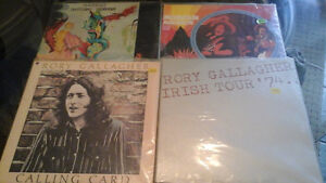 Guitar Heroes Gallagher and West Albums(lps)