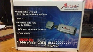 AirLink 54Mbps 802.11g Wireless LAN USB 2.0 Adapters 2X