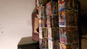 over 100 walt disney vhs movies