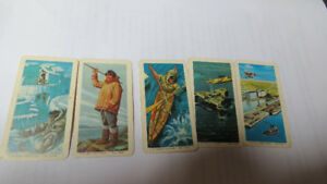 The Red Rose Tea cards(5) 1971,73