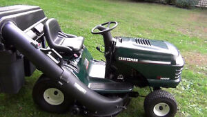 LOOKING FOR A CRAFTSMAN LAWN TRACTOR BAGGER