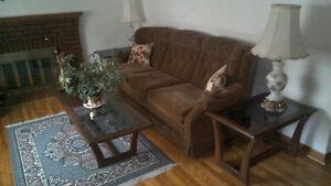 Living room set like new from Lounsburys