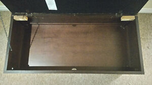 Canadian Made Leather Top Footrest and Storage Box Kitchener / Waterloo Kitchener Area image 4
