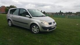 Renault Grand Scenic Expression 1.6 petrol 2006 7 seater