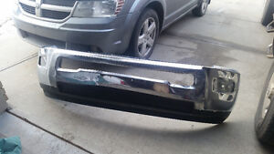 Used Front Bumper With Fog Lamps For Ram 2500 Strathcona County Edmonton Area image 2