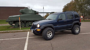2002 Jeep Liberty 4x4 *LOW KMs* Best Offer for time being.