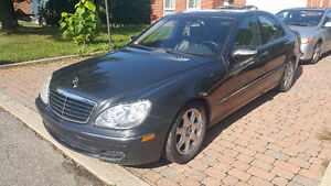 2003 Mercedes-Benz 4 Matic S-Class 4.3L Sedan Low Km Moon Roof West Island Greater Montréal image 3