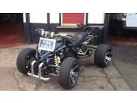 ROAD LEGAL QUAD F1 SPY 2012 12 REG 350cc