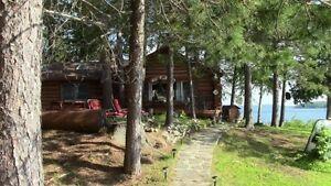 Beautiful Blue Lake, Kipawa QC