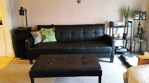 Very Nice Black Futon for sale