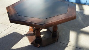 Solid Wood Table (Octagon shape) Peterborough Peterborough Area image 2