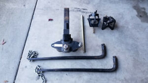 Weight distribution hitch 12000 Lbs