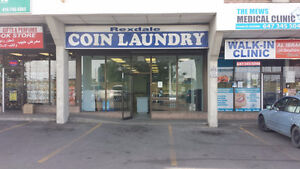 Coin Laundromat W/property for Sale(Rexdale & Islington),Toronto