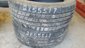 Pair of 2 Michelin Defender 215/55R17 tires (50% tread life)