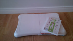 Planche Wii fit !