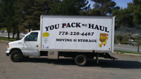 You Pack We Haul Moving & Storage