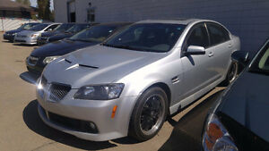 2009 Pontiac G8 LEATHER LOADED with SUNROOF