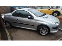 2002 Peugeot 206 1.6 Coupe Cabriolet S nice looking car expensive sat nav