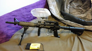 BT Ironhorse Paintball Marker Good Condition with Accessories