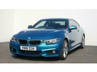 2018 BMW 4 Series 420d [190] M Sport 2dr Auto [Professional Media] Coupe diesel