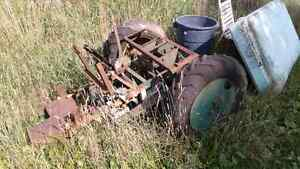Tractor rear end