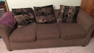 Super Cheap! Lightly Used and Comfy 3 Seater Sofa/Couch $200 OBO
