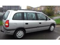 2003 Vauxhall Zafira 1.8 MPV ( BEST OFFERS WELCOME )