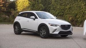 2016 Mazda CX3 with Tire &Rim protection