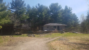 House and 3.4 acres for sale