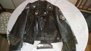 Ou Vendez Montréal Dans Vêtements Veste Grand Achetez Cuir Des ftwqn7E4x