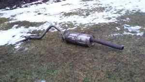 Gmc 2009 exhaust