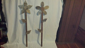 Handcrafted Wood Flowers