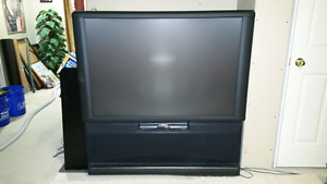 Pioneer 50 inch projection tv.