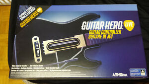 Guitar Hero Live PS4 Jeu + Guitar 100% NEW/NEUF