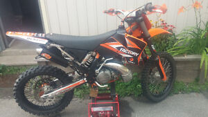 2002 Ktm 250 SX (XC GEARING) Good condition. Lots of extras. Peterborough Peterborough Area image 9