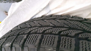 Dodge Journey Snow tires ! only used 1.5 seasons -must sell