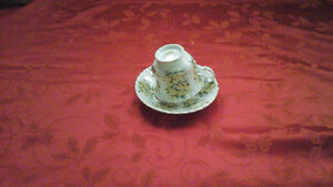 Royal Albert cup and saucer - Summertime series Primroses