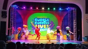 Three (3) VIP Bubble Guppies TIckets for Feb 26/17