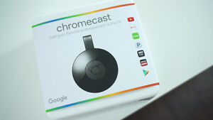 New Google Chromecast 2nd generation in sealed box West Island Greater Montréal image 1