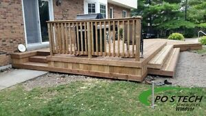 Postech Screw Pile Footings For Decks, Additions, Sunrooms! Windsor Region Ontario image 9