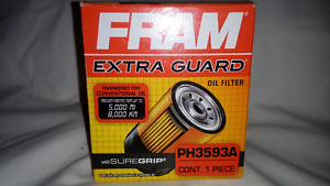 """Fram PH3593A """"Extra Guard"""" oil filters (new in box)"""