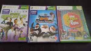 Xbox360 Kinect games.