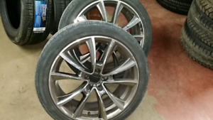 225 45 R18 tires and rims for sale
