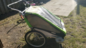 Thule Chariot Cheetah Double Stroller for Sale