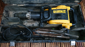 Dewalt Hammer Breaker D25899 with Box etc FWO