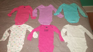 Huge lot of newborn girl clothes