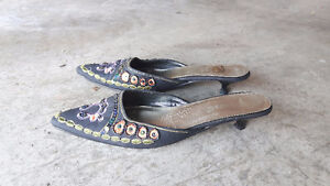 Beautiful Beaded Shoes ~ Excellent condition